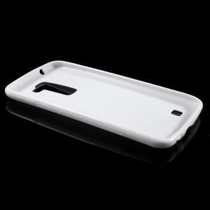 S-line gelový obal na mobil LG K10 - bílý - 5