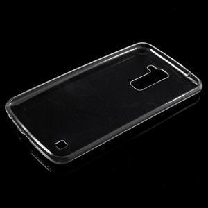 Ultratenký slim obal na LG K10 - transparentní - 5