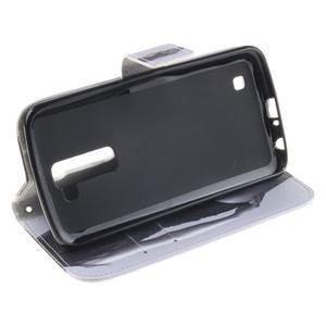 Peňaženkové puzdro pre mobil LG K10 - sexy dívka - 5