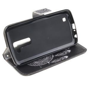 Peňaženkové puzdro pre mobil LG K10 - lapač snov - 5