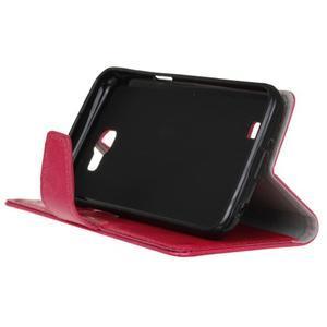Leat peněženkové pouzdro na LG K4 - rose - 5