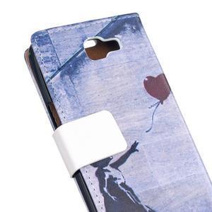 Style peňaženkové puzdro pre LG K4 - dievčatko - 5