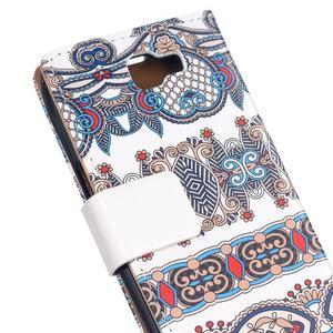 Style peňaženkové puzdro pre LG K4 - pattern - 5