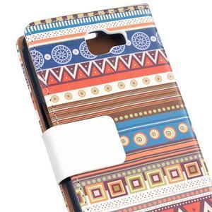 Style peňaženkové puzdro pre LG K4 - tribal - 5