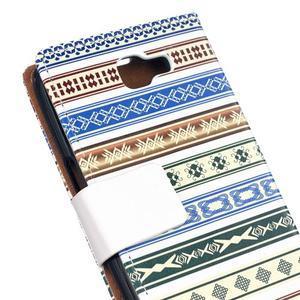 Style peňaženkové puzdro pre LG K4 - ethnic - 5