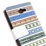 Style peněženkové pouzdro na LG K4 - ethnic - 5/5