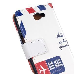 Style peňaženkové puzdro pre LG K4 - air mail - 5