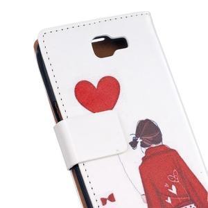 Style peněženkové pouzdro na LG K4 - láska - 5
