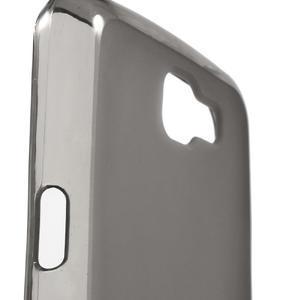 Matný gélový obal pre mobil LG K4 - sivé - 5