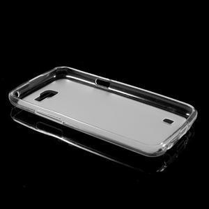 Matný gélový obal pre mobil LG K4 - biele - 5