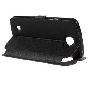 Trend puzdro s okienkom na mobil LG K4 - čierne - 5