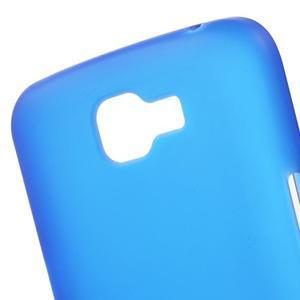 Antfing matný gelový kryt na LG K4 - modrý - 5