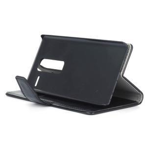 Sitt PU kožené puzdro pre mobil LG Zero - čierne - 5