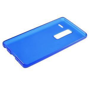 Matný gelový obal na mobil LG Zero - modrý - 5
