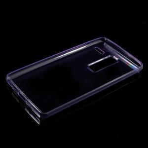 Ultratenký slim gelový obal na LG Zero - fialový - 5