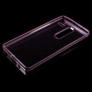 Ultratenký slim gelový obal na LG Zero - rose - 5