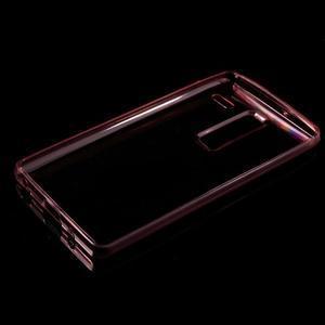 Ultratenký slim gelový obal na LG Zero - červený - 5