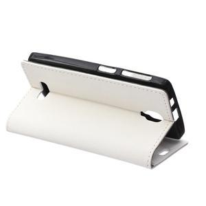 Wallet pouzdro na mobil Lenovo A1000 - bílé - 5