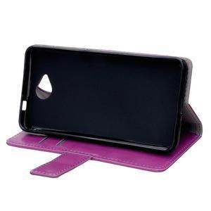 Fold peňaženkové puzdro na Microsofst Lumia 650 - fialové - 5