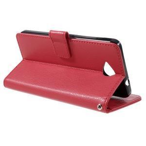 Funny peňaženkové puzdro na mobil Microsoft Lumia 650 - červené - 5