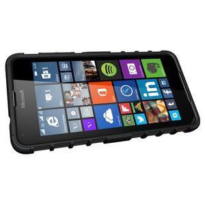 Outdoor odolný obal pre mobil Microsoft Lumia 650 - čierný - 5