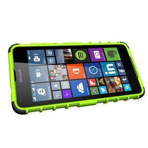 Outdoor odolný obal na mobil Microsoft Lumia 650 - zelený - 5