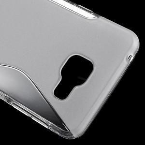 S-line gélové obal pre mobil Samsung Galaxy A3 (2016) - transparentný - 5