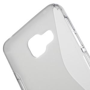 S-line gélové obal pre mobil Samsung Galaxy A3 (2016) - šedý - 5