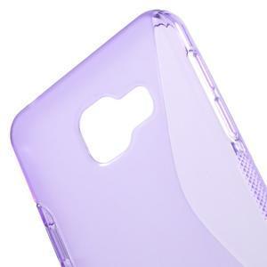 S-line gélové obal na mobil Samsung Galaxy A3 (2016) - fialový - 5