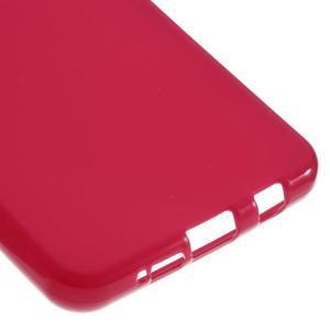Gélový obal pre mobil Samsung Galaxy A3 (2016) - červený - 5