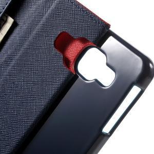 Goospery peňaženkové puzdro na Samsung Galaxy A3 (2016) - červené - 5