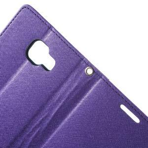 Goospery peňaženkové puzdro pre Samsung Galaxy A3 (2016) - fialové - 5
