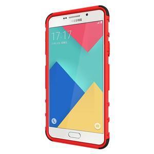 Outdoor odolný kryt na mobil Samsung Galaxy A3 (2016) - červený - 5