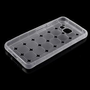Cube gélový obal pre mobil Samsung Galaxy A3 (2016) - transparentný - 5