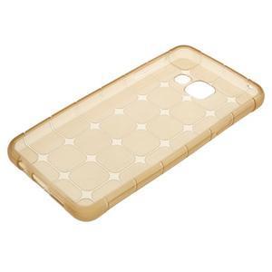 Cube gélový obal na mobil Samsung Galaxy A3 (2016) - zlatý - 5