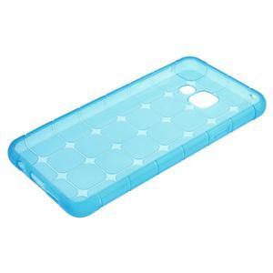 Cube gélový obal pre mobil Samsung Galaxy A3 (2016) - modrý - 5