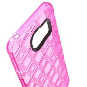 Square gélový obal pre mobil Samsung Galaxy A3 (2016) - rose - 5