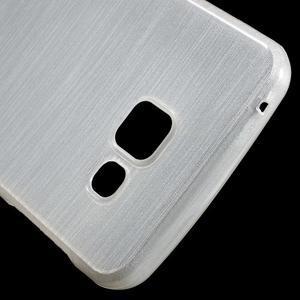 Gélový obal s motivem broušení na Samsung Galaxy A3 (2016) - biely - 5