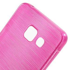 Gélový obal s motívom broušení pre Samsung Galaxy A3 (2016) - rose - 5