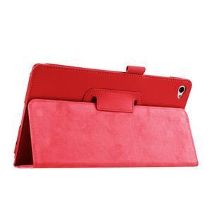 Safe polohovateľné puzdro na tablet Huawei MediaPad M2 8.0 - červené - 5