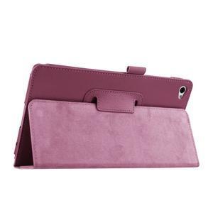 Safe polohovateľné puzdro na tablet Huawei MediaPad M2 8.0 - fialové - 5