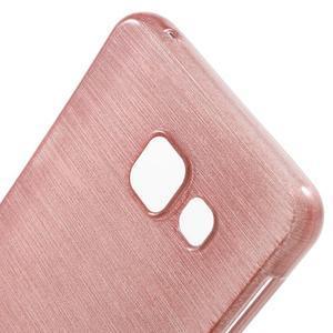 Gélový obal s motivem broušení na Samsung Galaxy A3 (2016) - růžový - 5