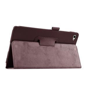 Safe polohovateľné puzdro na tablet Huawei MediaPad M2 8.0 - hnedé - 5