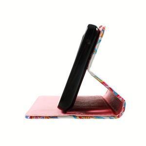 Peňaženkové puzdro na mobil Lenovo A536 - mandala - 5