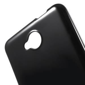 Lesklý gélový obal na mobil Microsoft Lumia 650 - čierný - 5