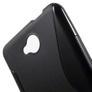 S-line gélový obal pre mobil Microsoft Lumia 650 - čierný - 5