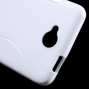 S-line gélový obal pre mobil Microsoft Lumia 650 - biely - 5