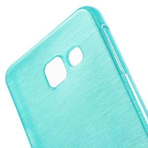 Gélový obal s motívom broušení pre Samsung Galaxy A3 (2016) - modrý - 5