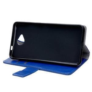 Fold peňaženkové puzdro na Microsofst Lumia 650 - modré - 5