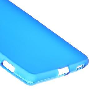 Matný gélový kryt pre Sony Xperia M5 - modrý - 5